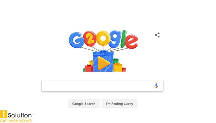 Google năm 20 tuổi có gì?