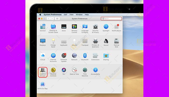 Hướng dẫn đặt mật khẩu cho MacBook