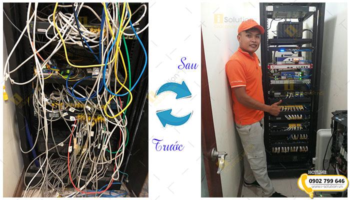Nâng cấp cải tạo làm gọn hệ thống mạng LAN