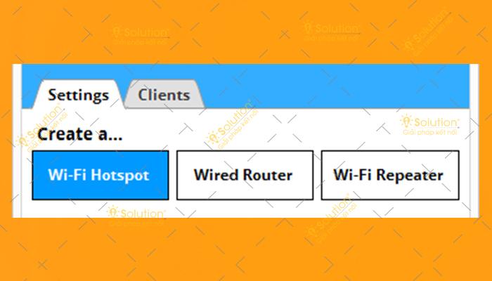 Những phần mềm phát wifi Win 10