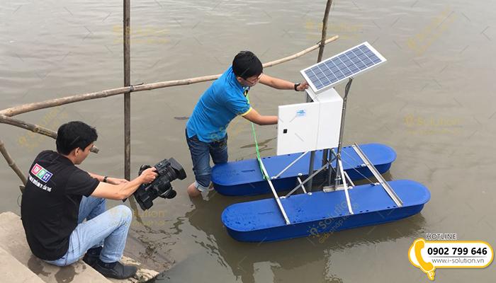 Quan trắc môi trường nước nuôi trồng thủy sản