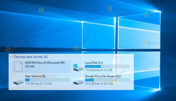 Thay đổi tên chữ cái ổ cứng Windows 10