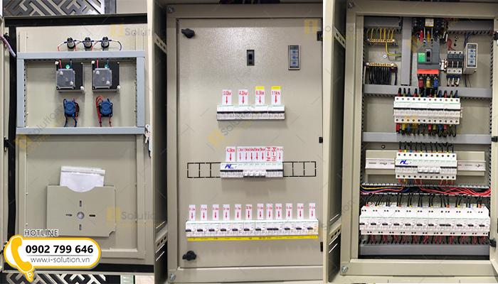 Thi công tủ điện