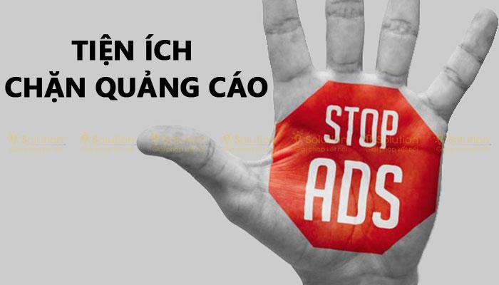 Tiện ích chặn quảng cáo