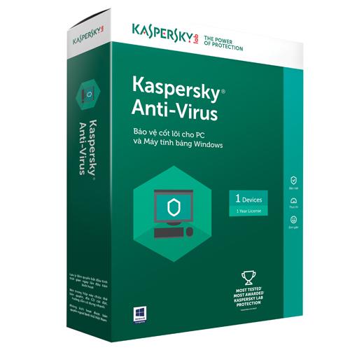 KASPERSKY ANTIVIRUS 2017 (1 PC)